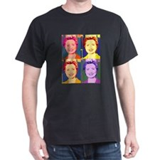 Hillary Clinton Pop Art 4 T-Shirt