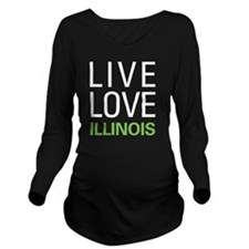 liveIL2 Long Sleeve Maternity T-Shirt