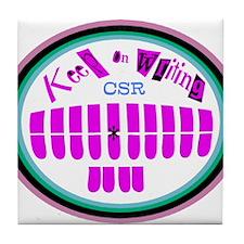 "Personalize ""CSR"" Tile Coaster"