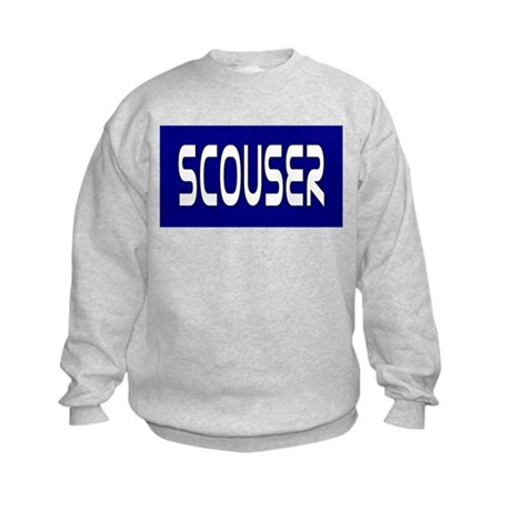 Blue Scouser Kids Sweatshirt