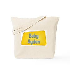Baby Ayden Tote Bag