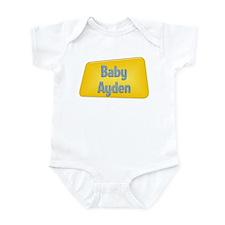 Baby Ayden Infant Bodysuit