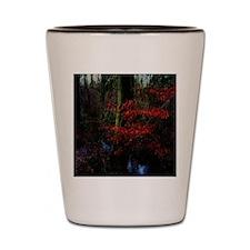 woodland_stream Shot Glass