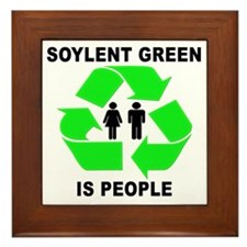 Soylent Green Framed Tile
