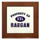 Property of raegan Framed Tile