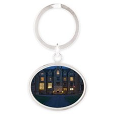 abbeyNight_jan Oval Keychain