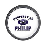 Property of philip Wall Clock