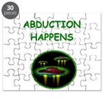 funny alien abduction ufo joke Puzzle