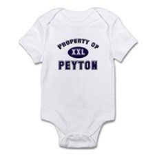 Property of peyton Infant Bodysuit