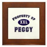 Property of peggy Framed Tile