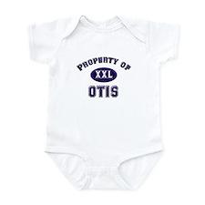 Property of otis Infant Bodysuit