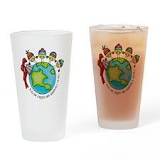 PeasOnEarth Drinking Glass