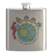 PeasOnEarth Flask