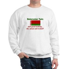 Good Lkg Belarus Twin Sweatshirt