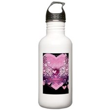 twilight forever pink  Water Bottle