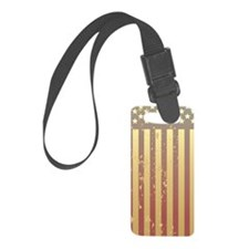 444-iPhone-AmericanFlag Luggage Tag
