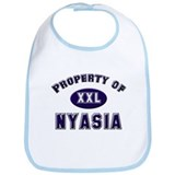 Property of nyasia Bib