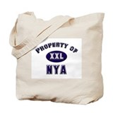 Property of nya Tote Bag