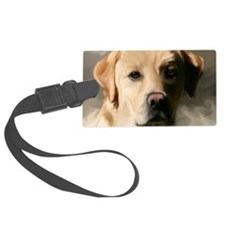 16x20YellowLab Luggage Tag