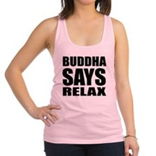 buddha copy Racerback Tank Top