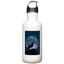 iphone4slider-wolf-moo Water Bottle