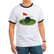 Black Lab Golfer T