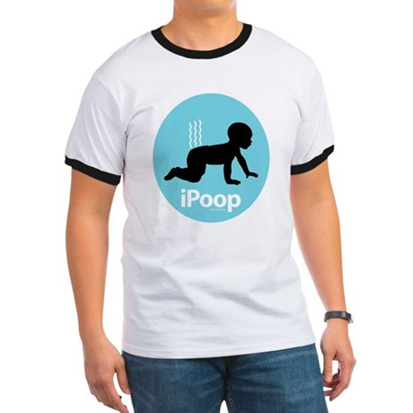 iPoop (Blue) Ringer T