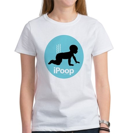iPoop (Blue) Women's T-Shirt