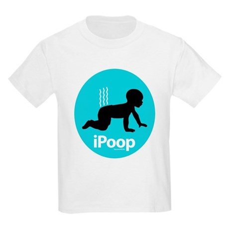 iPoop (Blue) Kids T-Shirt