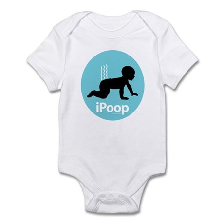 iPoop (Blue) Infant Bodysuit
