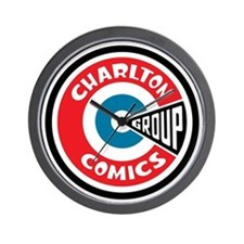 finished_charlton_logo Wall Clock