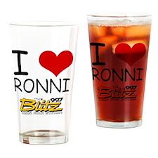 IloveRonni Drinking Glass