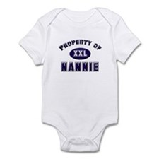 Property of nannie Infant Bodysuit