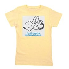 Yoga_HappyBaby_Blue Girl's Tee