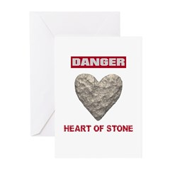 Heart of Stone Greeting Cards (Pk of 10)