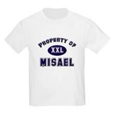 Property of misael Kids T-Shirt