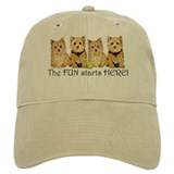 Norwich Terrier Fun Baseball Cap