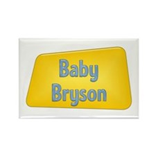 Baby Bryson Rectangle Magnet