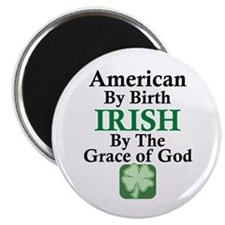 Irish-Grace Of God Magnet