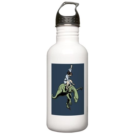 jesus-raptor-col-BUT Stainless Water Bottle 1.0L