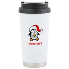 Penguin Santa Travel Mug