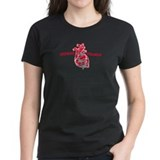 Women's Black Impenetrable T-Shirt