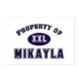 Property of mikayla Postcards (Package of 8)