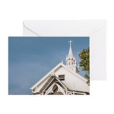 Hawaii. Saint Benedict's Painted Chu Greeting Card