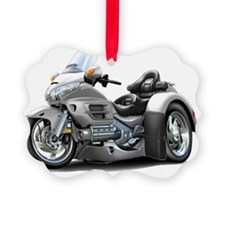 Goldwing GL1800 Silver Trike Ornament