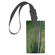 Helicopter, West Maui Mountains, Luggage Tag