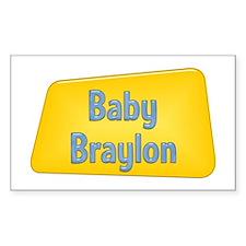 Baby Braylon Rectangle Decal