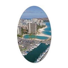 Ala Wai Yacht HarborWaikiki  Wall Decal