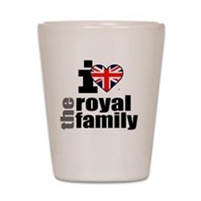 ihearttheroyalfamily2 Shot Glass