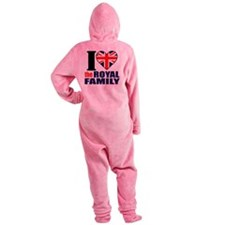 ihearttheroyalfamily Footed Pajamas